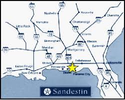 destin map destin fl map florida maps