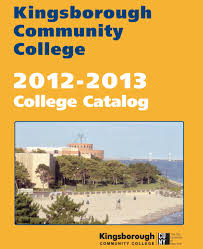 Catalog Kingsborough Community College College Catalog Kingsborough