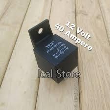 Jual Lu Dc 12v jual relay dc 12v 40a 5 kaki jd1914 hitam volt dc di lapak ical