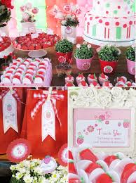 strawberry shortcake birthday party ideas a strawberry shortcake joint birthday party party ideas party