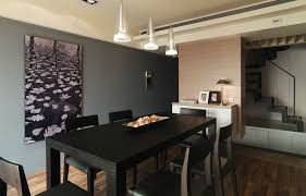 Black Wood Dining Table Dining Room Modern Dining Room Wall Decor Ideas With Lovely