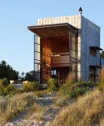 whangapoua movable beach hut on sleds idesignarch interior