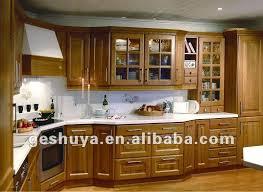 cuisine en bois massif moderne placard cuisine moderne idées décoration intérieure farik us