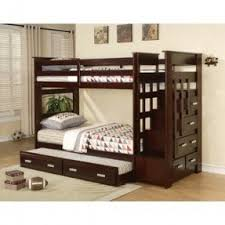 double bunk beds with stairs foter