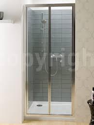 Shower Folding Doors Shower Shower Simpsons Edge Bi Fold Door 900mm Amazing Folding