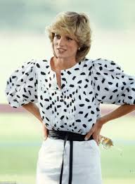Blouse With Big Bow How Ruffs Puffs And Pie Crusts Helped Make Lady Di U0027s Look Daily