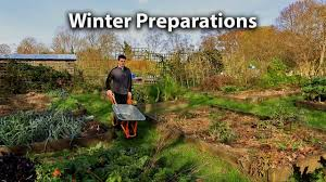 preparing our vegetable garden for winter youtube