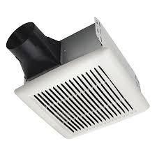 shop broan 2 sone 80 cfm white bathroom fan at lowes com