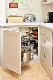 30 corner drawers and storage solutions for the modern kitchen elegant corner cabinets with pullout racks and smart drawers are a popular combination photography