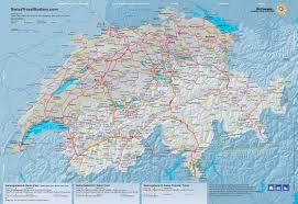 Swiss Alps Map Rail Travel To Swiss Resorts Snowcarbon