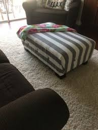 Recover Ottoman Home Decor Hacks For Recovering An Ottoman In Your Home