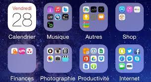 logiciel pour ranger bureau ranger ses applis iphone et tout un iphone x 8