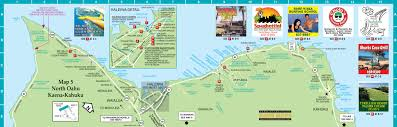 North Shore Chicago Map by Maps Update 600414 Oahu Tourist Map U2013 Island Of Oahu Tourist Map