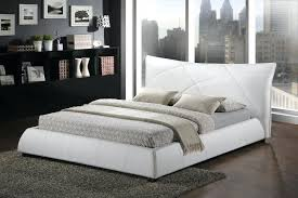 Contemporary Platform Bed Frame Modern King Platform Bed Frame Built In Side Table And Height