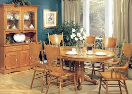 Light Oak Dining Room Sets Oak Dining Room Table And Chairs Visionexchange Co