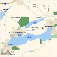 map of lake geneva wi outdoor activities near lake geneva wi