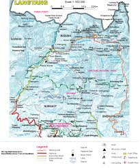 Maps Nepal by Langtang Besthike Com