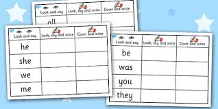phase 3 tricky words on writing practice worksheets phase 3