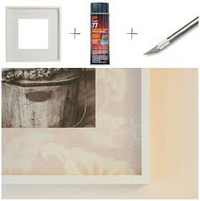 ikea ribba diy how to cover mat in left over wallpaper ikea ribba frame 3m