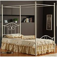 hillsdale westfield full size canopy bed rails included arched