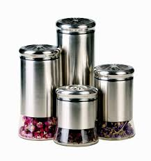 stainless steel kitchen canisters kidkraft vintage kitchen in