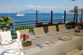 Wedding Table Set Up Our Wedding Table Set Up Picture Of Terrazza Delle Sirene