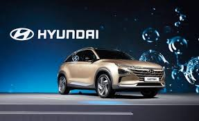 suv of hyundai hyundai reveals hydrogen fuel cell suv car and