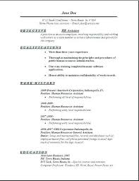best resume exles free download human resource administrative assistant resume best resume format