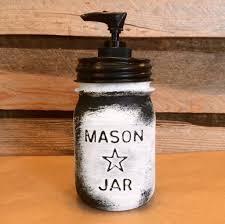 vintage mason jar canisters rustic white mason star jars mason