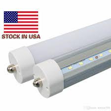8ft fa8 led tube 45w 8ft 2400mm 2 4m single pin led fluorescent