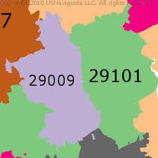 map of columbia south carolina columbia south carolina zip code boundary map sc