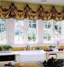 Swag Curtains With Valance Valances Commercial Window Treatments Privacy Window Valances