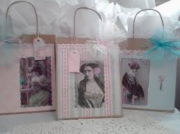 Shabby Chic Gift Bags by Shabby Chic Victorian Style Gift Bags Collection 4 By Ohsoshabby1