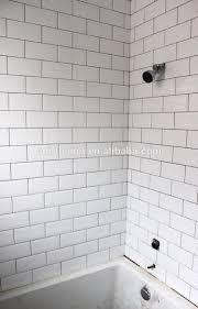 beveled subway tile interior design