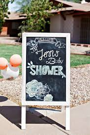baby shower chalkboard blooming baby shower baby shower ideas themes