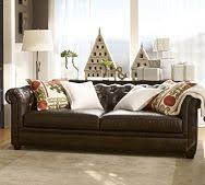 Pottery Barn Leather Couches Brooklyn Leather Sofa Pottery Barn Furniture Pinterest