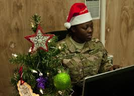 deck the fob with boughs of holly a long knife christmas