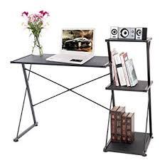 bureau d ude ouvrage d vie carver noir bureau d ordinateur d angle compact livre de station