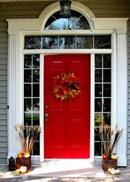 fall door decorations 67 and inviting fall front door décor ideas digsdigs