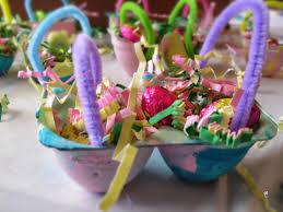 easter egg baskets to make easy easter craft for kids egg easter egg baskets