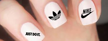 nail art logo maker best nail 2017 vector logotype design for