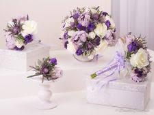 wedding flowers purple purple wedding bouquet ebay