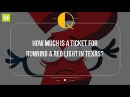 how much is a red light ticket in washington state how much is a ticket for running a red light in texas youtube