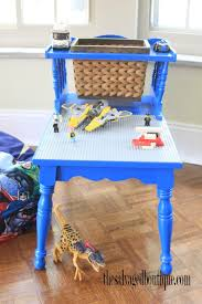 diy lego table the salvaged boutique
