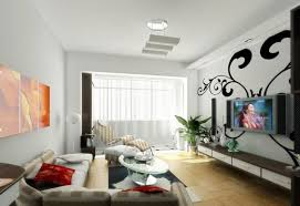 interior living room lights from the ceiling with simple ceiling