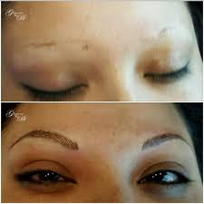 microblading before and after gallery glamour by bo permanent makeup