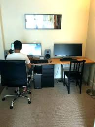 Home Office Desks For Two Two Person Desk Home Office Furniture Desk Home Office Best