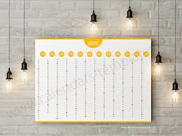 printable annual planner best annual planner template for 2019 year yearly agenda