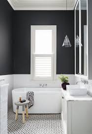 exclusive inspiration small bathroom ideas black and white