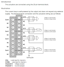 etsnz how do i wire the bmxamo0410 analog module for a m340 plc